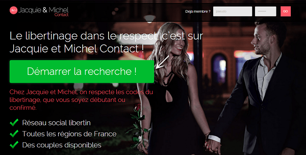 Jacquie et Michel Contact avis : bon site pour le libertinage ?